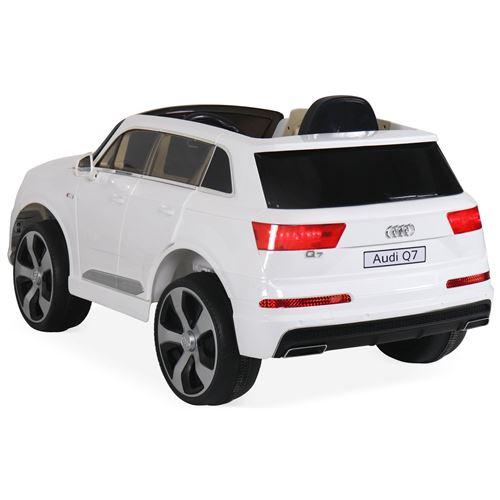 Alice's Et Avec Électrique Autoradio Garden Place4x4 Télécommande Enfants 12v1 Pour Audi BlancVoiture Q7 WrxQBedoC