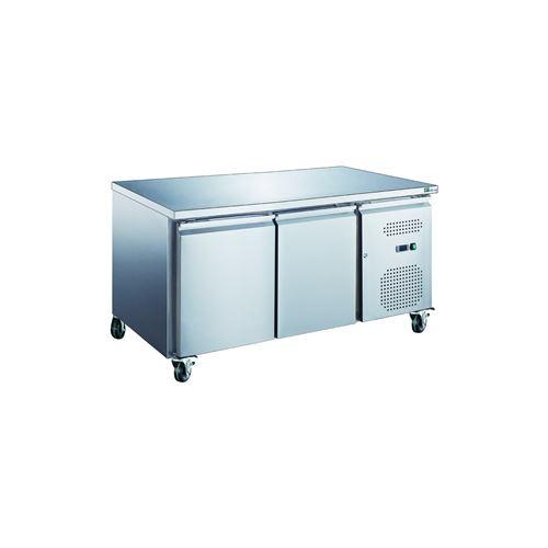 Table 228 Litres rfrigre 2 portes inox