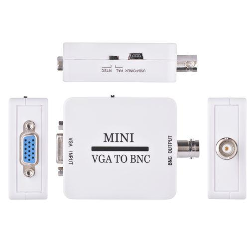Sélecteur numérique Mini HD VGA vers BNC Video Converter Box pour HDTV AC1973