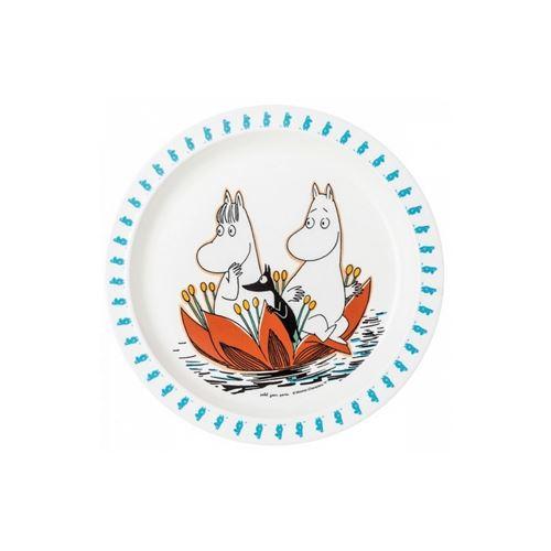 Assiette bébé moomin - petit jour paris