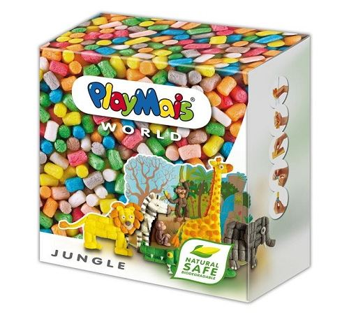 Playmais - 160021 - loisir créatif - world jungle