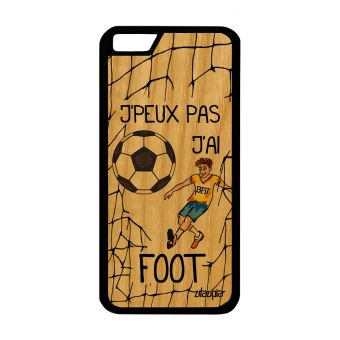 coque iphone 6 silicone foot