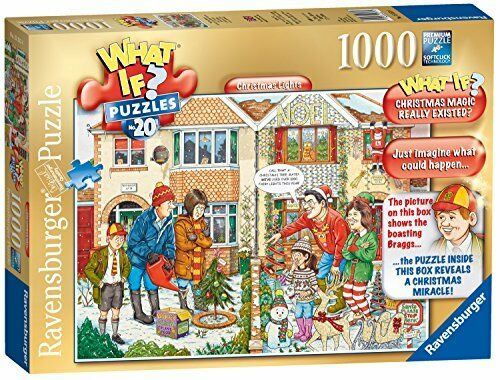 Ravensburger WHAT IF No20 Christmas Lights 1000pc Casse-tête