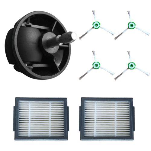 Side Filtres Brosse & Hepa et roue universelle pour iRobot Roomba I7 et + Core i7 / i7Plus