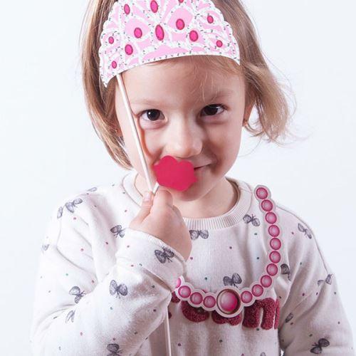 Lot d'accessoires de déguisement de princesse - Article de fete anniversaire