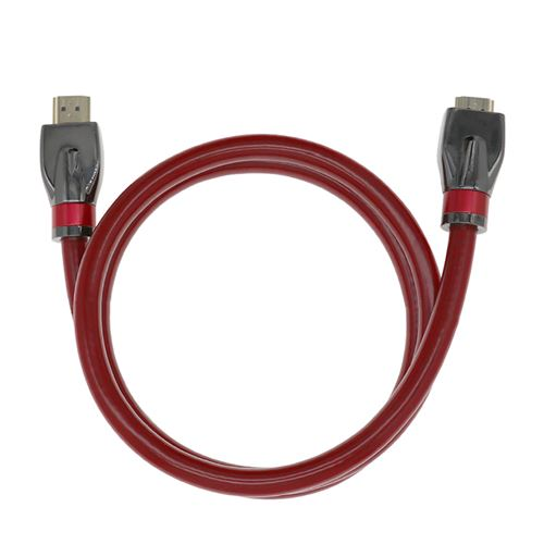 Plus de détails Prime 8K Hdmi Cable 2.1 Haute Vitesse D'Or Weave Plomb 4K 2160P 3D Hdtv Pour Pc Multicolore MK8162
