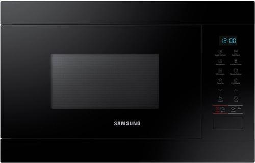Samsung MS22M8054AK - Four micro-ondes monofonction - intégrable - 22 litres - 850 Watt - noir