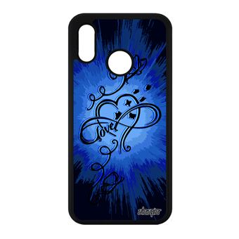 coque huawei p20 lite fille silicone
