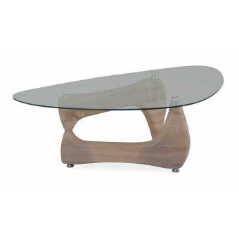 pas cher pour réduction 53527 33d2f JUSTyou Omega Table basse Sonoma Chene 41x70x120 cm - Achat ...