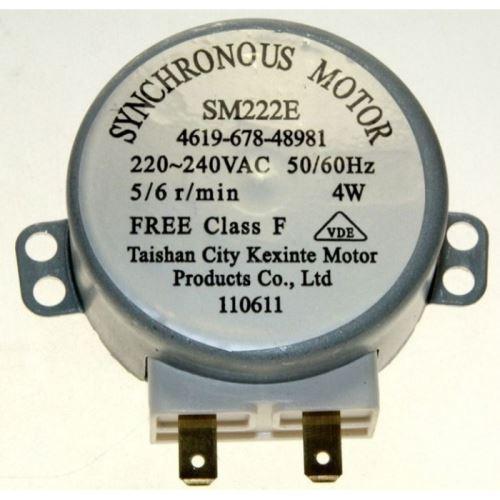 Moteur du plateau tournant pour micro ondes whirlpool - d225420