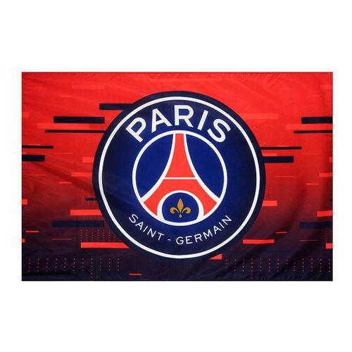 Paris Saint Germain FC - Drapeaux du club (Taille unique) (Rouge / bleu) - UTSG18202