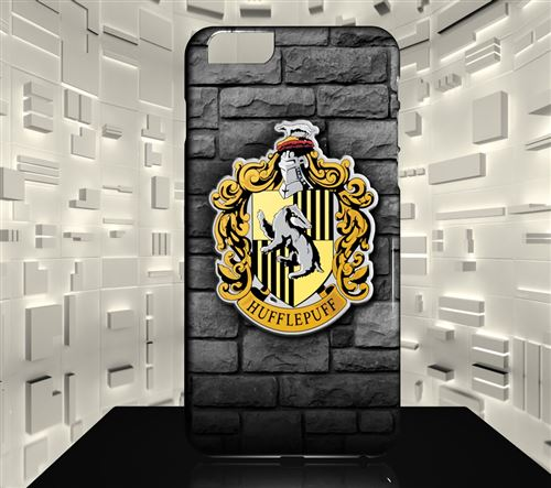 Coque rigide pour iPhone 7 HARRY POTTER POUFSOUFFLE ART DESIGN 17