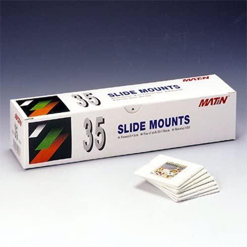 MATIn Plastique ABS Slide Monte plateau 35mm - 100pcs