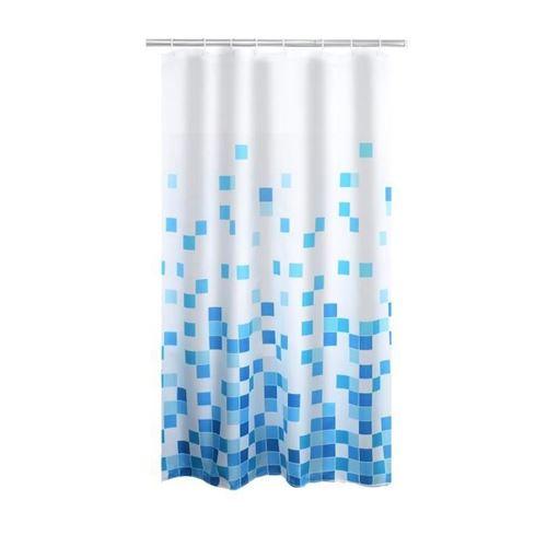 RIDDER Rideau de douche Cubes Textile