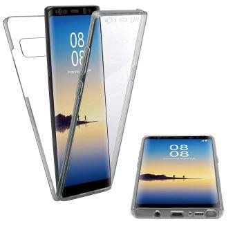 CABLING® (Couverture complète) Coque INTEGRALE pour SAMSUNG GALAXY NOTE 8 en silicone TRANSPARENT Samsung Galaxy Note 8 (Samsung Galaxy Note 8)