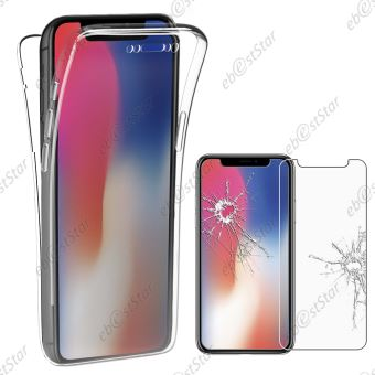 coque devant derriere iphone x