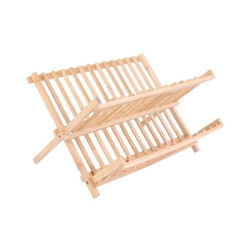 Egouttoir à vaisselle en bambou Cook - Beige