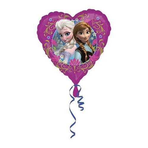 ballon alu coeur frozen