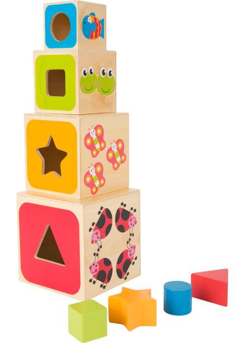 Cubes À Empiler Alphabet