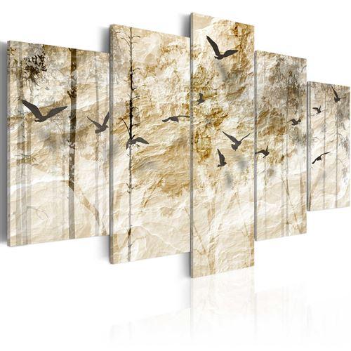 Tableau - Forêt en papier - Décoration, image, art | Paysages | Forêt |