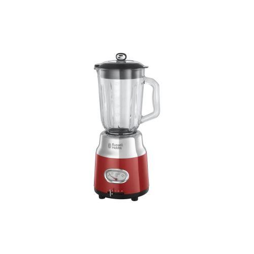 Russell Hobbs 25190-56 - Blender Retro Bol Verre - 1,5 L - 800 W - Rouge