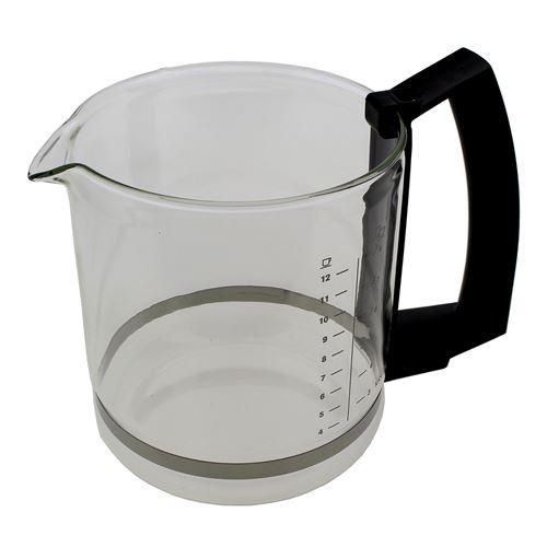 Verseuse t8 noire 8/12 tasses pour Cafetiere Krups