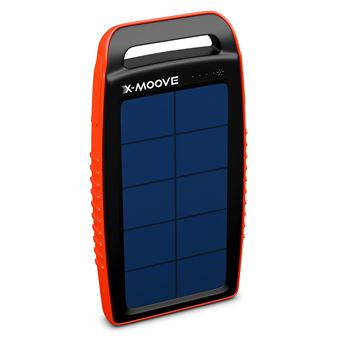 batterie externe x moove solargo pocket 10 000 mah chargeur pour t l phone mobile achat. Black Bedroom Furniture Sets. Home Design Ideas