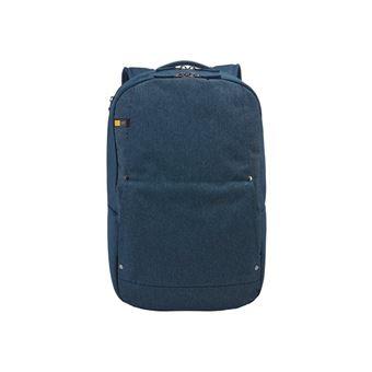 Case Logic HUXDP115B Sac /à dos pour Ordinateur Portable//Tablette 15,6//10,1 Bleu