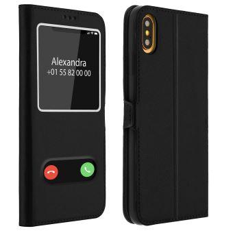 coque silicone noir iphone xs max