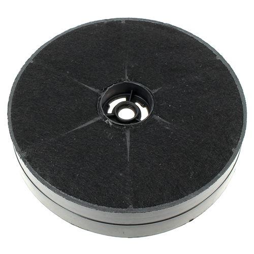 Filtre charbon rond d=172mm x40mm pour Hotte De Dietrich, Hotte Rosieres, Hotte Airlux, Hotte Far, Hotte Curtiss, Hotte Laco, Hotte Markling, Hotte Cu