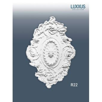 Rosace Décoration De Plafond Elément De Stuc Orac Decor R22 Luxxus Elément Décoratif Motif Floral Antique 77 X 525 Cm