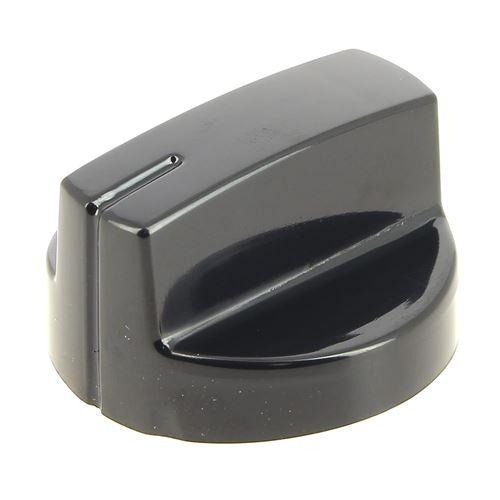Bouton noir 12h pour Table de cuisson Beko, Table vitroceramique Beko