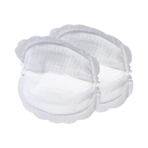NÛBY Lot de 30 coussinets d'allaitement blancs accessoires d'allaitement, blanc
