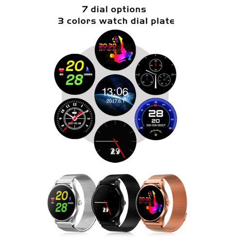 Montre connectée K88 1.22 pouces écran tactile montre