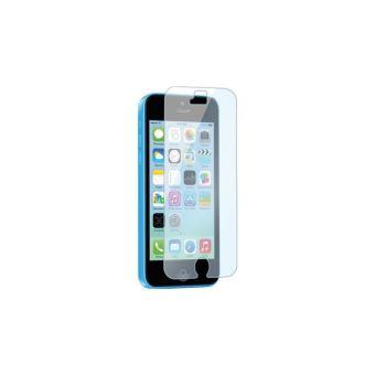 protection d 39 cran muvit verre tremp pour iphone 5 5s 5c protection cran pour t l phone. Black Bedroom Furniture Sets. Home Design Ideas
