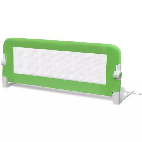 vidaXL Barrière de lit pour enfants 102*42 cm Vert