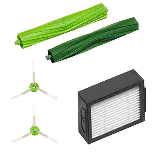 Filtres et brosse de roulement côté brosse et Hepa pour iRobot Roomba Core i7 / Core i7 + / i7Plus Cleaner