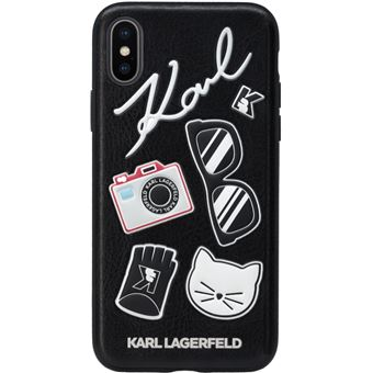 coque lagerfeld iphone x