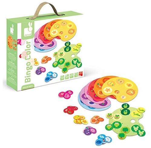 Bingo color - jeu de loto 2 en 1 - janod 3-7 ans