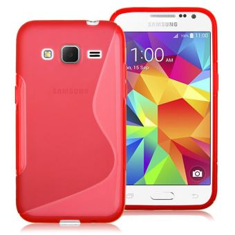 coque huawei p10lite rouge