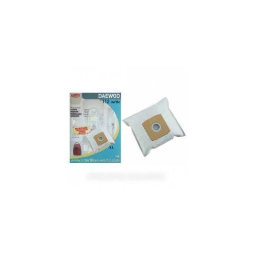Sacs 112 (x4) microfibre pour aspirateur daewoo - 9979353
