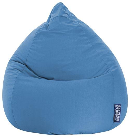 Pouf Easy XL bleu moyen