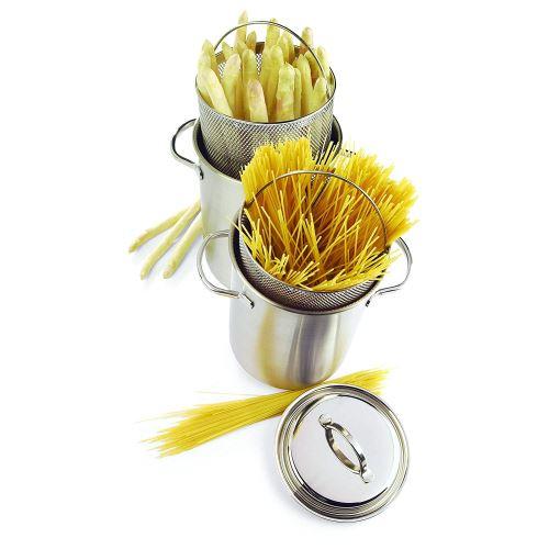 Demeyere - Cocotte À Asperges/spaghettis 16 Cm - Taille : 23 Cm