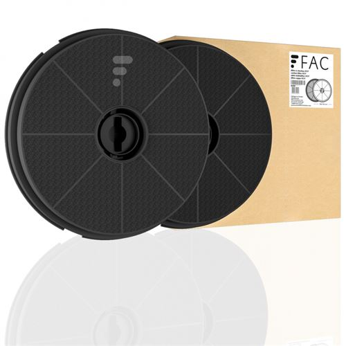 Fc17 - filtre de hotte à charbon actif compatible candy cct685 /1x /1w /1n