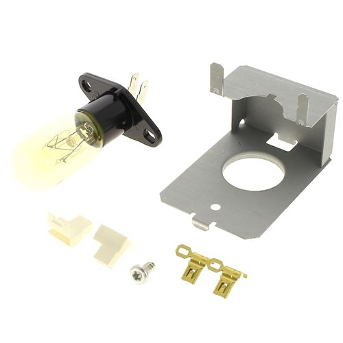 Ampoule + douille pour Micro-ondes Brandt