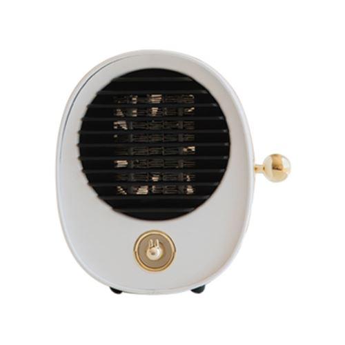 Mini bureau portable chauffage électrique ventilateur Chronométrage air chaud Bureau Handy Home Pealer103