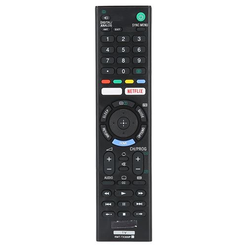 Télécommande De Télévision Tv Remplacement Pour Sony Rmt-Tx300P
