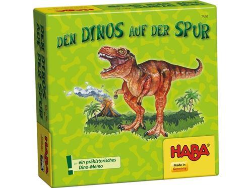 Haba Le jeu de mémoire Dinos auf der Spur (DU)