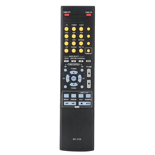 Télécommande de cinéma contrôleur AV durable ABS pour RC-1119