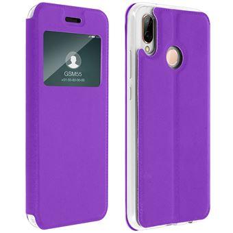 coque silicone huawei p20 lite violet